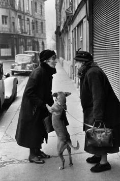 Henri Cartier-Bresson Place Dauphine, 1st arrondissement, Ile de la Cité, Paris 1953