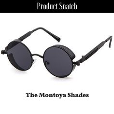 2544084f633 Product Snatch Sunglasses · The Montoya Shades- Black