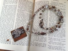 For sale on Etsy: https://www.etsy.com/listing/211636603/handcrafted-necklace-texas-jewelry?ref=shop_home_active_2