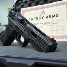 The time has come. Fatal 15 Round II has been completed and are finally ready for out bound shipping. If you were unable to get in on… Shooting Guns, Shooting Range, Weapons Guns, Guns And Ammo, Para Ordnance, Agency Arms, Custom Glock, Fire Powers, Cool Guns