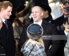 25: Prince Harry and Mike Tindall leave Sandringham Church for the traditional Christmas Day service at Sandringham on December 25, 2011 in King's Lynn, England. The Queen and the Duke of Edinburgh traditionally lead the royals in attending a church service at Sandringham Church on Christmas Day. It is the Duchess of Cambridge's first Christmas at Sandringham after her marriage to Prince William, Duke of Cambridge in April of this year. This year the Duke of Edinburgh missed the service as…
