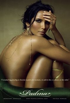 Padma Lakshmi for Padama Jewelery