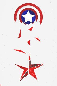 """CAPTAIN AMERICA: THE WINTER SOLDIER MINIMALIST """