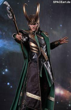 The Avengers: Loki - Deluxe Figur, Fertig-Modell ... http://spaceart.de/produkte/tav004.php Oh my gosh! *Want*