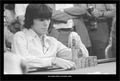 The boyish Stu Ungar in 1980. Widely regarded to have been the greatest Texas Hold 'em and Gin Rummy player of all time. Ungar won both the 1980 and 1981 World Series of Poker Main Events. Only the 2nd person in history to win back-to-back Main Events he won it a third time in 1997. The winner of five WSOP bracelets including 15 in-the-money finishes his total live tournament earnings were more than $3.6-million. Photo by Ulvis Alberts. http://en.wikipedia.org/wiki/Stu_Ungar