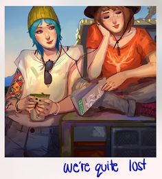 we're quite lost! by Ormille on DeviantArt