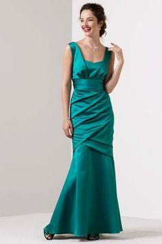 Comes in Purple - Several different shades :)  David's Bridal Bridesmaids - 85060
