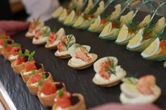 Canapés... my passion. Oh how I miss you