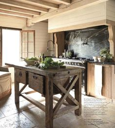 Historic Homes: Photo - rustic~ modern country kitchen - Decor, Home Kitchens, Modern Country Kitchens, Rustic Kitchen, Kitchen Remodel, Kitchen Design, Country Kitchen, Shabby Chic Kitchen, French Country Kitchen