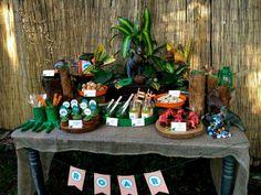 Dinosaur Birthday Party Ideas | Photo 18 of 24 | Catch My Party