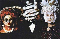 Masks at 1972 Rothschild (Illuminati) party