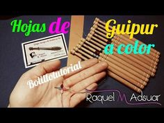 Hoja de Guipur de Colores - Bolillotutorial Adsuar - Encajes de Bolillos - YouTube Bobbin Lace Patterns, Lace Heart, Lace Jewelry, Needle Lace, Lace Making, Irish Crochet, Wool Yarn, Lace Detail, Videos