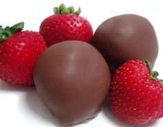 Dinstuhl's Chocolate Covered Strawberries! These ar WAY better than Godiva!