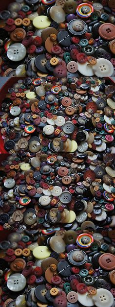 Buttons 7320: 2,500 Buttons Sale Mixed Colors Sewing Vintage Lothuge Bulk Lot Whsl -> BUY IT NOW ONLY: $31.99 on eBay!