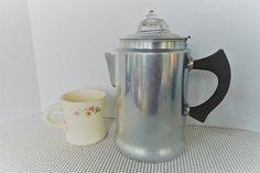 Betty Bright 60 oz Stovetop Percolator Aluminum coffee pot