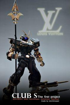 GUNDAM GUY: PG 1/60 Gundam Astray [Louis Vuiton Ver.] - Customized Build
