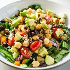 7 passos para montar a salada ideal