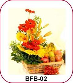 Fruit and Flower Basket - Florist Jakarta - Online Flower Shop :: Hotline 021-60503980, 021-94229037, Pin BB: 320F2810