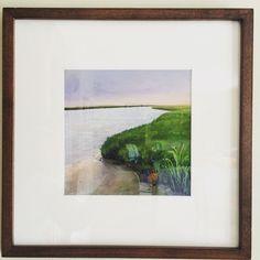 Cape Marsh by Takeyce Walter #framed