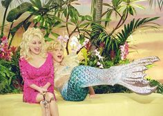 Dolly Parton and Bette Midler