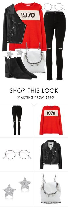 """""""Untitled #22020"""" by florencia95 ❤ liked on Polyvore featuring Bella Freud, Ahlem, Acne Studios, Diamond Star and STELLA McCARTNEY"""