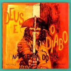 LP SERGIO RICARDO OST DEUS E O DIABO NA TERRA DO SOL 1963 GLAUBER ROCHA ORIGINAL BRAZIL
