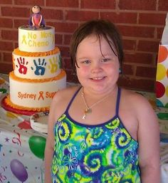 Sydney, 6, has ALL Leukemia. She was diagnosed on March 27, 2009, and finished her treatment on August 20, 2011. She has been off treatment and doing well for 5 months.  Submitted by Melissa Upchurch.