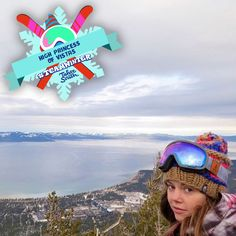 Hey Team Winter, behold your High Princess of Vistas! Want your own official Team Winter title? Post a pic with #tahoesouth and #teamwinter for a chance to become Tahoe South royalty!