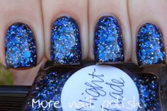 More Nail Polish: Lynnderella - Night Shade
