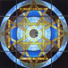 images of stained glass | day weekend big stained glass with mirror 2004 2005 stained glass ...