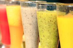 Recipe: tropical island smoothie for weight loss and healthy breakfast. Breakfast Smoothies For Weight Loss, Weight Loss Smoothie Recipes, Breakfast Smoothie Recipes, Health Breakfast, Breakfast For Kids, Healthy Smoothies, Healthy Food, Healthy Eating, Healthy Recipes