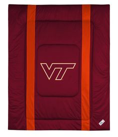 VIRGINIA TECH HOKIES SIDELINES COMFORTER KING VIRGINIA TECH
