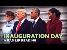 Thank Goodness There's A Bad Lip Reading Of The Inauguration | Crooks and Liars