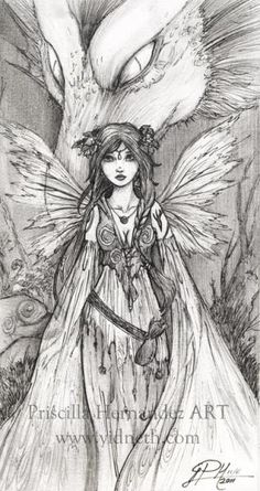 Image detail for -Gothic Pencil Drawings Gothic Fairies Fairies Coloring Pages - Ajilbab ...