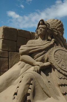 Weston Sand Sculpture Festival 2012