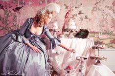 Marie-Antoinette-Cupcake-Party