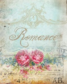 romance and roses printable..