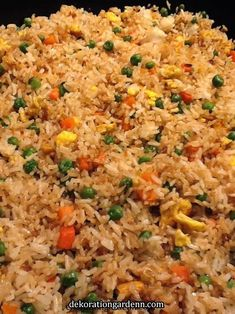 Fried rice at home...so much healthier for you! Fried rice at home...so much healthier for you!