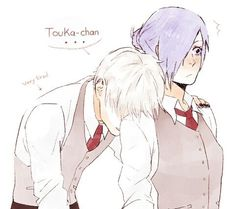 kaneki and touka EVERYTIME I SEE SOMETHING FROM TOKYO GOUL I START CRYNING WHAT HAVE YOU DONE TO ME?!?
