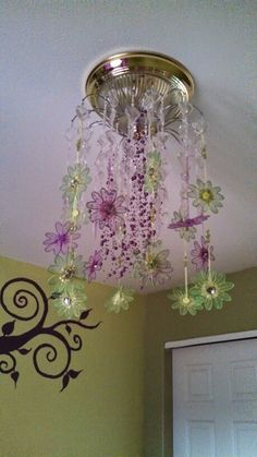 Chandelier in Rayleigh's room