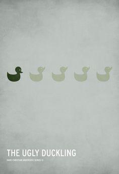 affiche minimale illustration conte fee enfant 12 Affiches minimalistes de contes  design bonus