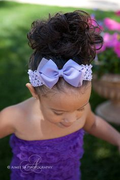 Baby Bow, Baby Headband, Girls Bow, Girls Headband, Infant Bow, Infant Headband, Newborn Bow, Newborn Headband, Boutique Bow. $8.99, via Etsy.