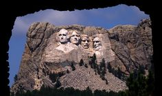 Mt. Rushmore Eyes | Mount Rushmore through the Tunnel | Flickr - Photo Sharing!