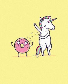 Apple iPhone 6 Custom Case White Plastic Snap On - 'How Donuts Get Sprinkles' Unicorn Shaving Armpits My Little Unicorn, Unicorn Mom, Unicorn Shirt, Unicorn Gifts, Cute Unicorn, Unicorn And Glitter, Unicorn Halloween, Cute Cartoon Drawings, Funny Wallpapers