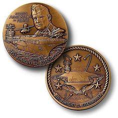 USS Dwight D. Eisenhower Coin
