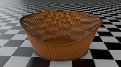 3D Wicker Baskets | 3D Model