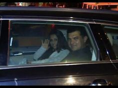 Vidya Balan with husband siddharth at Karan Johar's 42nd Birthday Party.