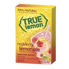 I'm learning all about True Lemon Raspberry Lemonade Drink Mix at @Influenster!