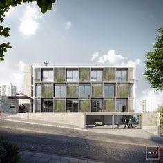 Commercial Building. Estudio MI.