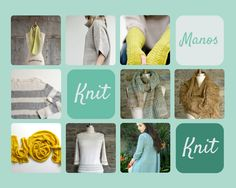 Knitspiration: Manos Knitting Patterns